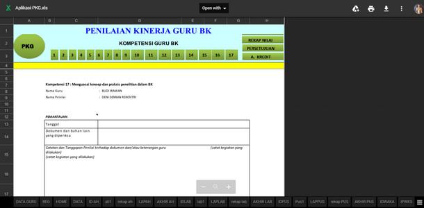Aplikasi PKG Multi Fungsi