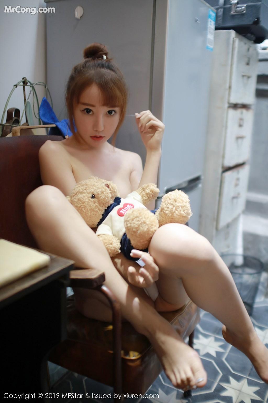 Image MFStar-Vol.188-Xia-Xiao-Xiao-Summer-MrCong.com-009 in post MFStar Vol.188: Xia Xiao Xiao (夏笑笑Summer) (41 ảnh)