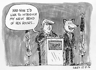 Trump Cabinet Fox Hen-house