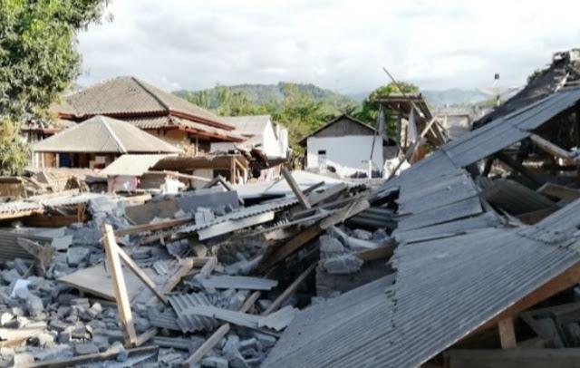 Innalillahi, Update Korban Tewas Gempa Lombok, Capai 347 Orang