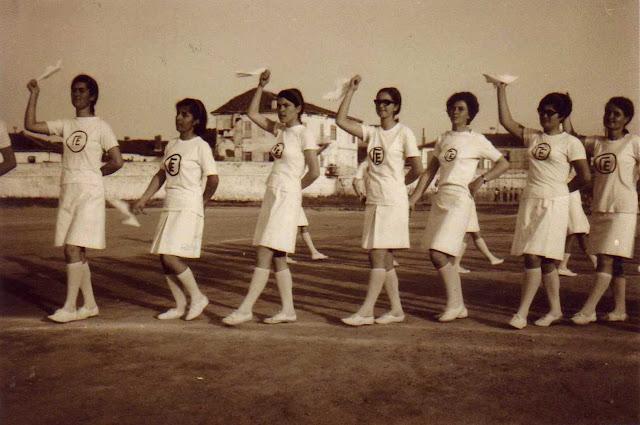Γυμναστικές επιδείξεις στο γήπεδο Εδεσσας την δεκαετία του 60