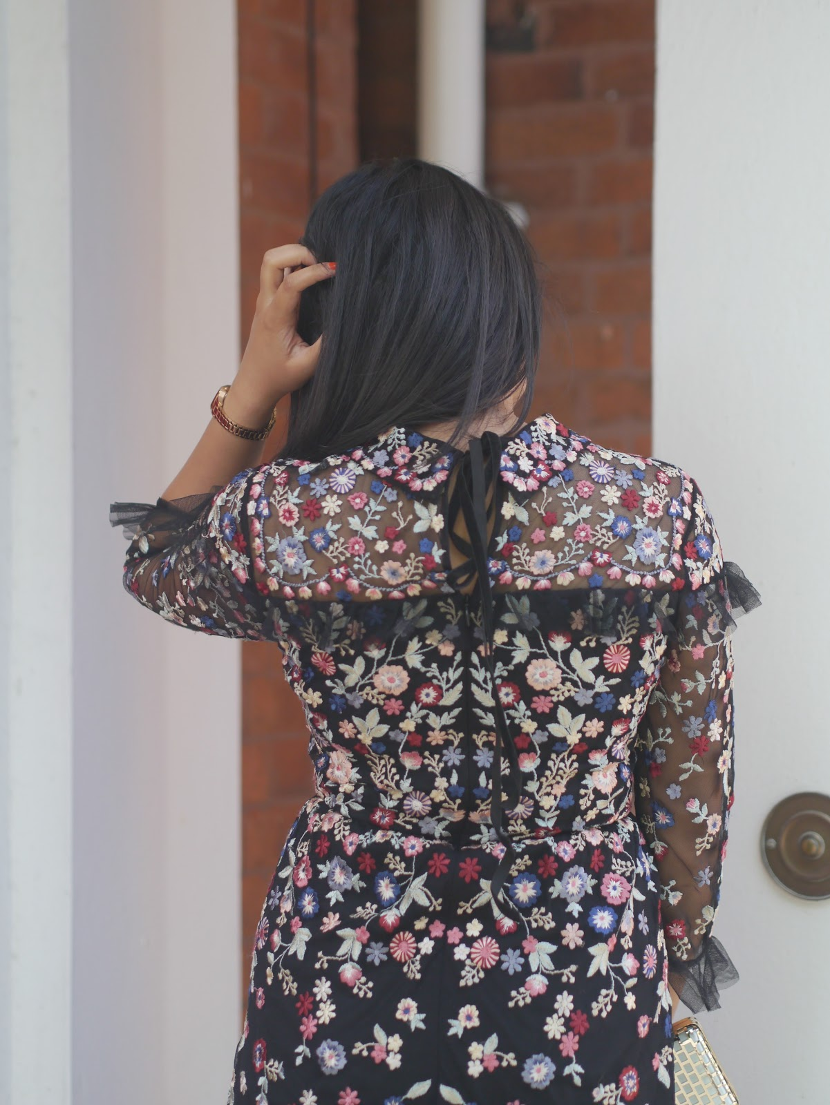 How to style the floral embroidery trend