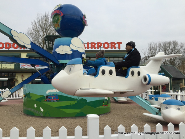 Jeremy Jet in Thomas Land