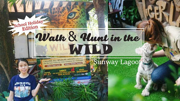School Holiday - WALK & HUNT in the WILD @ Sunway Lagoon