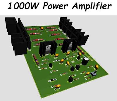 1000W Power Amplifier DIY