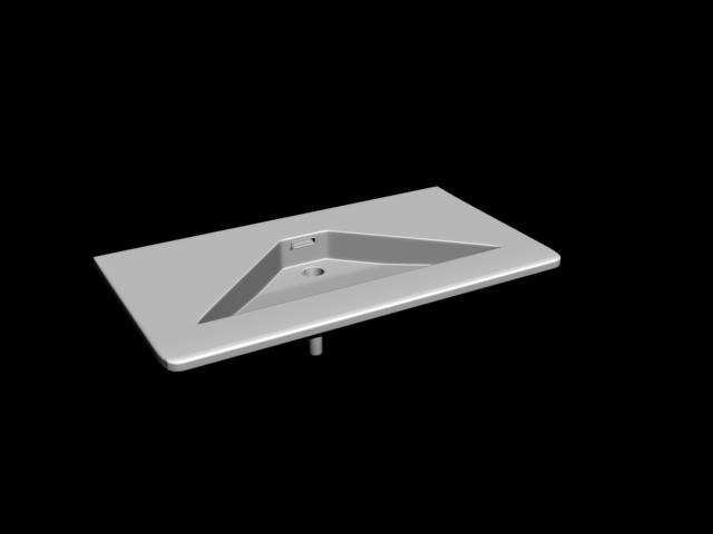 Lavabo 3DSMAX Model 2