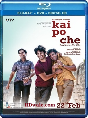 Kai Po Che full Movie Download (2013) HD 720p BluRay 800mb