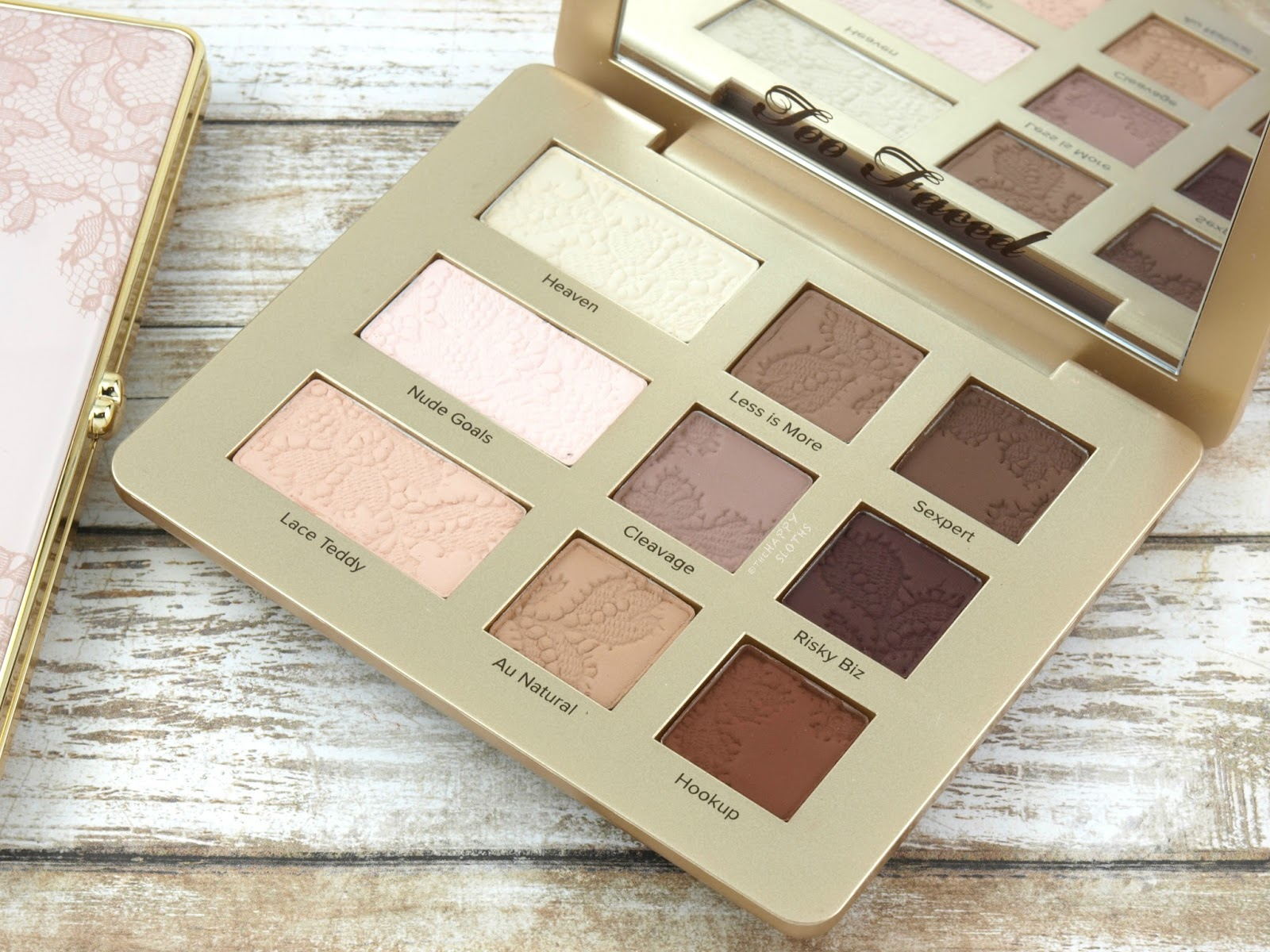 Too Faced Natural Matte Eyeshadow Palette: Review and Swatches