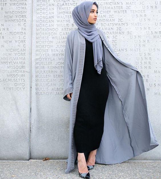 40 Model Fashion Hijab Simple Elegan Terbaru 2017