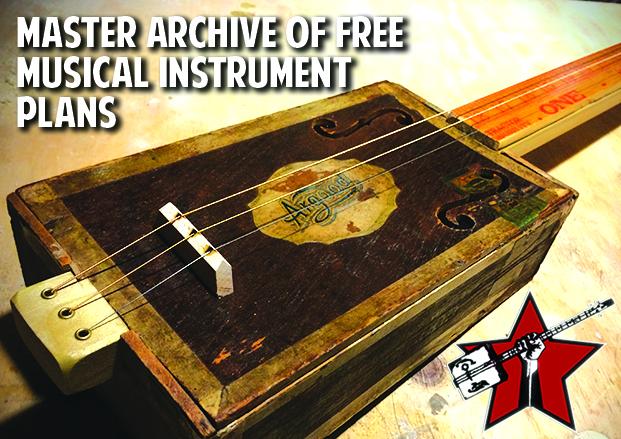 Nag Lake Diy Musical Instrument Plans Cigar