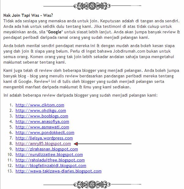 Jobdirumah.com scam