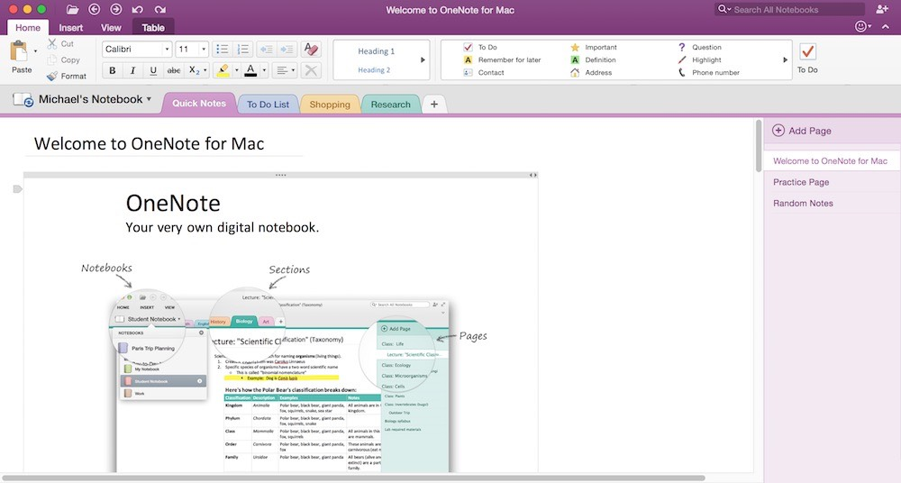 best note taking software for mac 2012