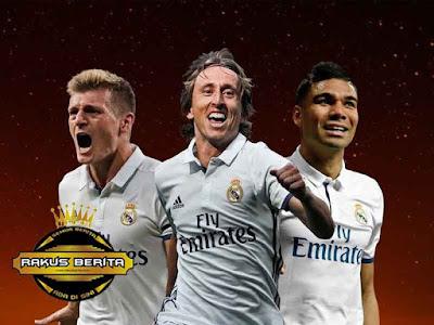 Casemiro, Isco, Kroos, Modric Dominasi Posisi Gelandang Skuat FIFPro World XI