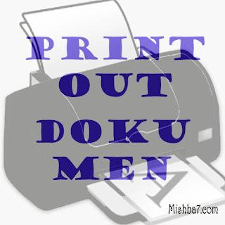 Cara Mencetak atau Printout Dokumen Pada Ms Word
