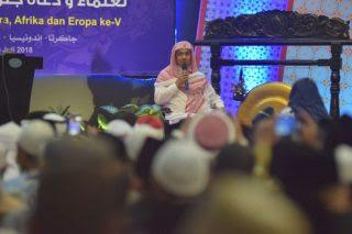 Syaikh Al-Hamudi Ingatkan untuk Jaga Ukhuwah dan Silaturahmi