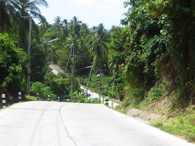 Фотография крутых дорог Таиланд