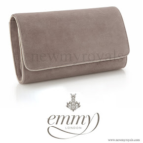 Kate Middleton carried her Emmy brown suede clutch