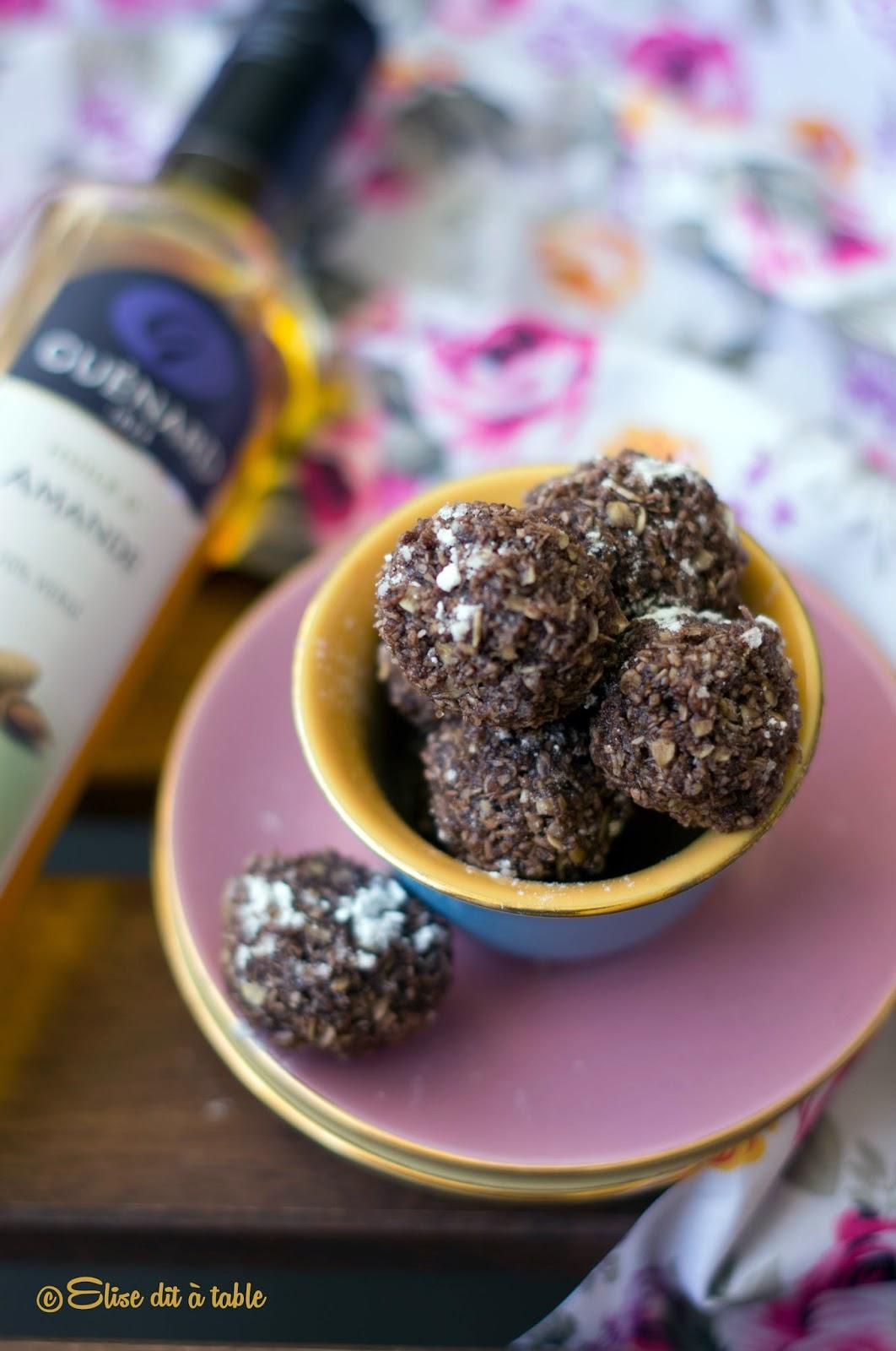 recette Balls coco cacao amande