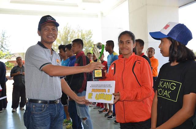 Lomba Lari Marathon Pariaman Diikuti 670 Peserta, Tim Putra Kabupaten 50 Kota Berhasil Rebut Juara Umum