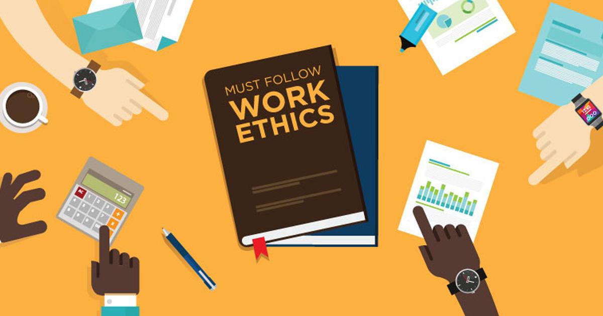 أخلاقيات العمل عن طريق الانترنت