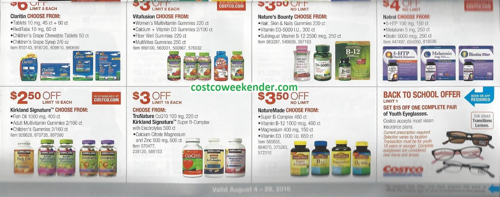 Coupons for costco