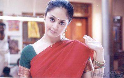 Bolly Photoshoot: Tamil Aunty Actress Jyothika in saree ...