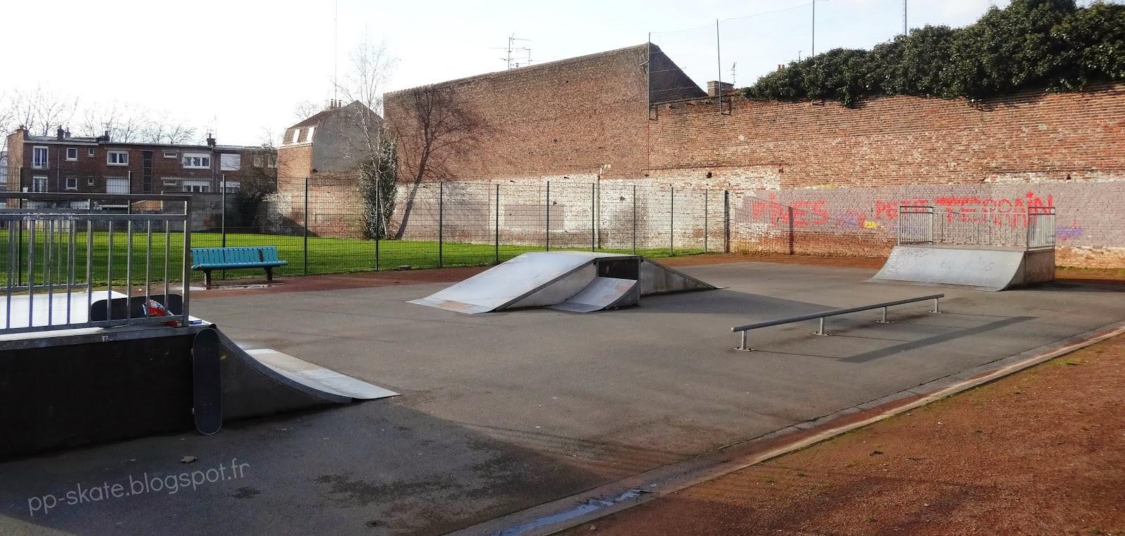 Skatepark Lille Fives