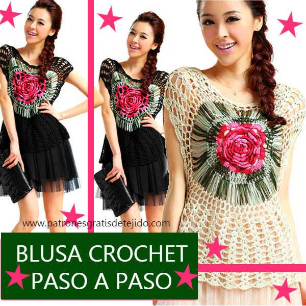 polera-crochet-calada-centro-de-rosa