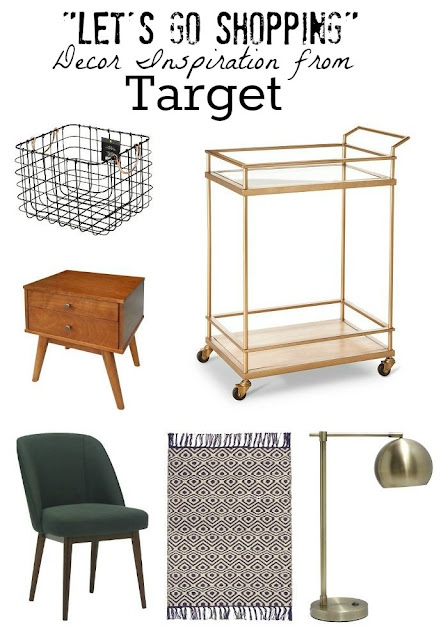{Let's Go Shopping) Home Decor Inspiration from Target.
