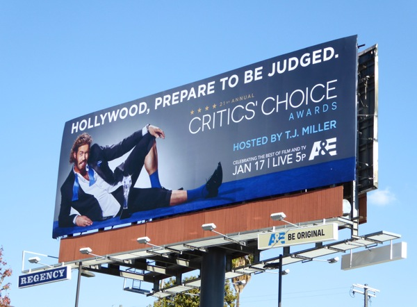 Critics Choice Awards 2016 billboard