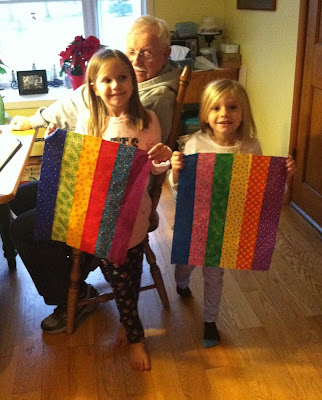 Strip Quilting, Quilting with Kids