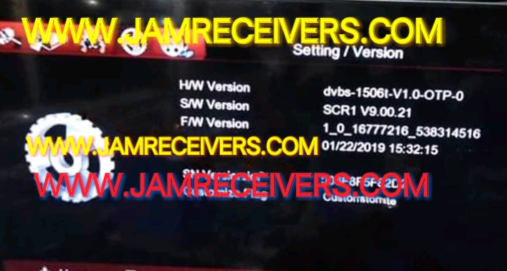 1506T SCR1 NEW POWERVU KEYS SOFTWARE 2019 - Jam Receivers