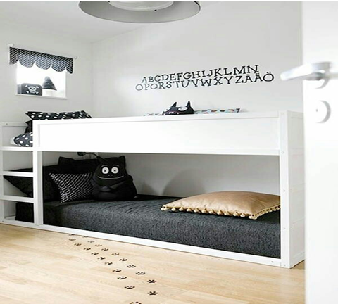 40 modern space saving bunk bed ideas for your bedrooms for Space saving bed solutions