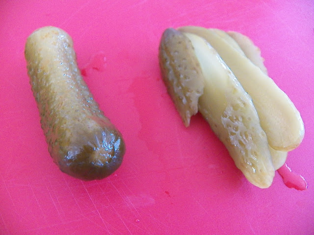 Sweet Gherkins for Remoulade