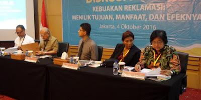 Susi Pudjiastuti: Reklamasi Jakarta Bisa Sebabkan Banjir