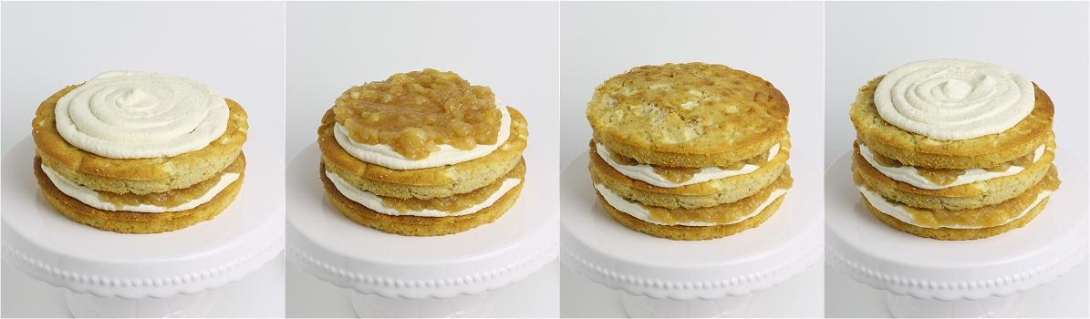 Apfel-Zimt-Torte Anleitung 2