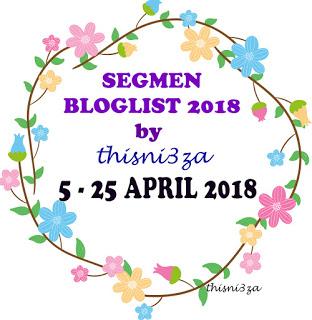 SEGMEN BLOGLIST 2018 BY THISNI3Z