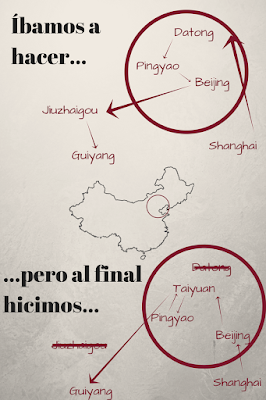 Itinerario de China
