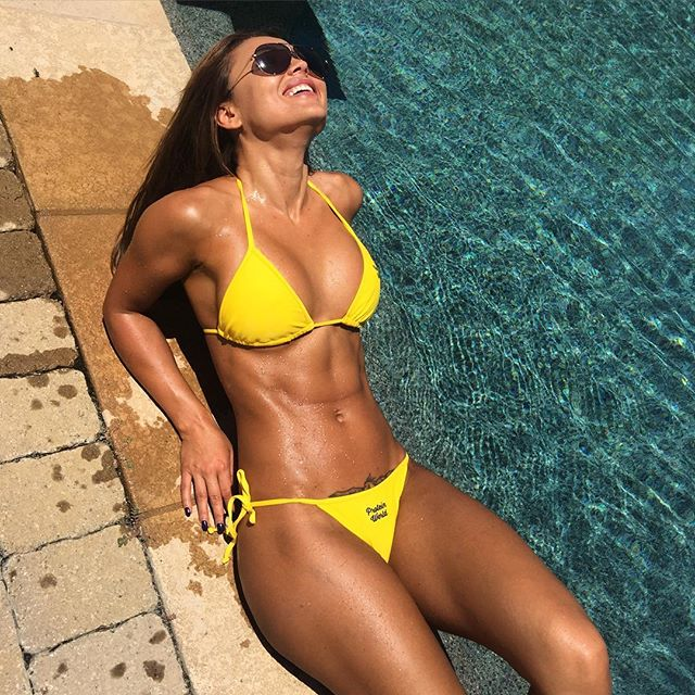 Fitness Model Julia Gilas 1