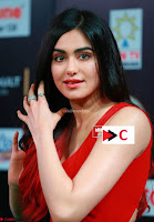 Adah Sharma in Red Deep Neck Spicy Gown ~  Exclusive 38.jpg