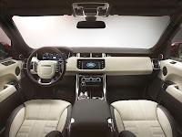 All-new Range Rover Sport SUV dash