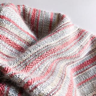 shawl アンゴラ・シルク 木蓮
