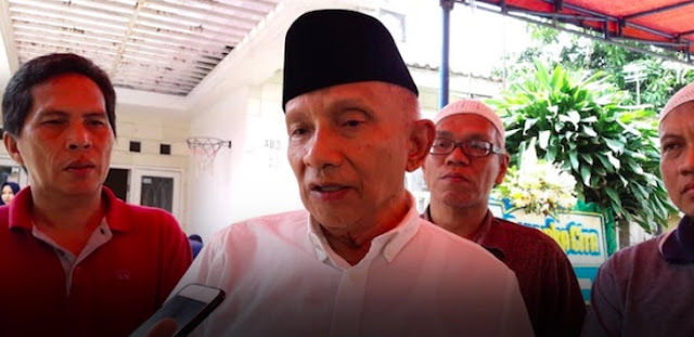 Amin Rais Curiga Ada Aktor Pembunuh Dufi, yang Ditangkap Cuma Pesuruh