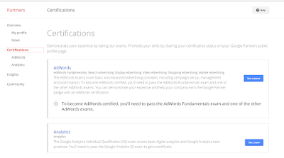 Free Certifications from Google - Adwords and Analytics
