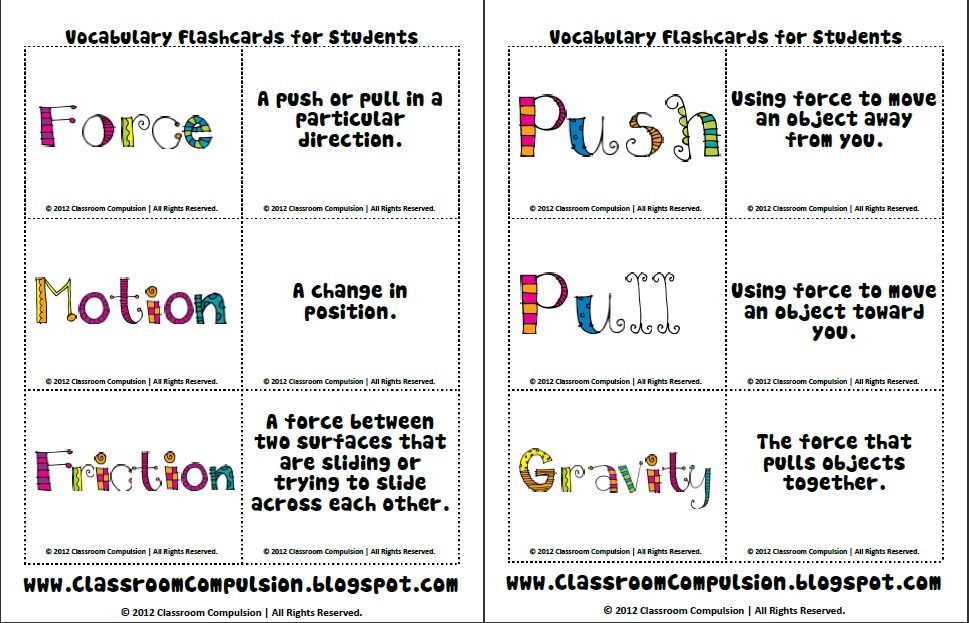 Force And Motion Worksheets 5th Grade Virallyapp Printables – Force and Motion Worksheets
