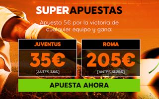 888sport superapuestas Juventus vs Roma 22 diciembre