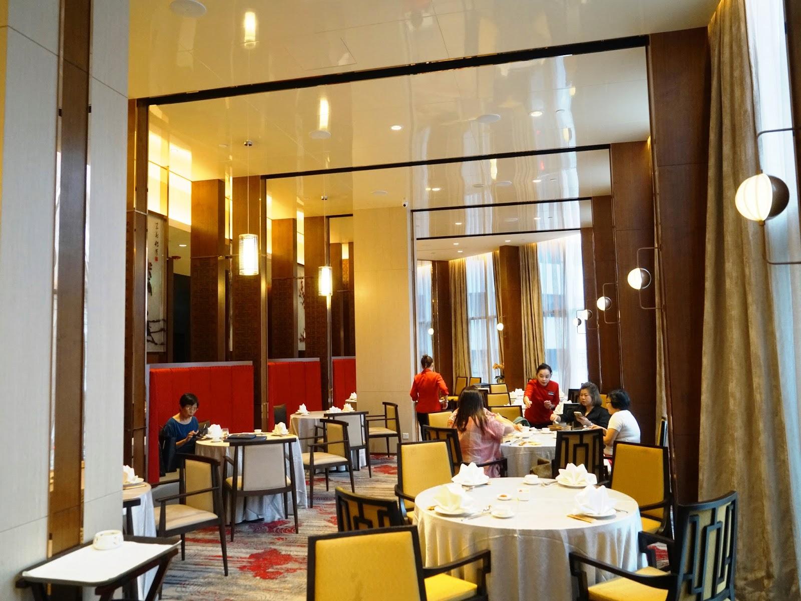 Pinkypiggu Song Garden Chinese Restaurant Mercure Singapore Bugis Serving Dim Sum Modern