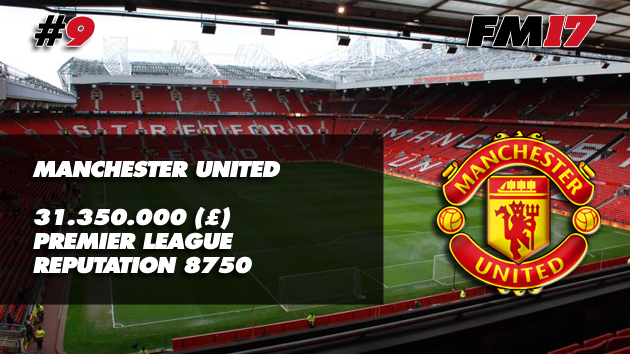 Football Manager 2017 Manchester United Transfer Budget