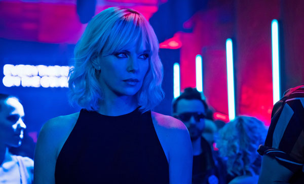 Charlize Theron as MI6 agent Lorraine Broughton in ATOMIC BLONDE (2017)