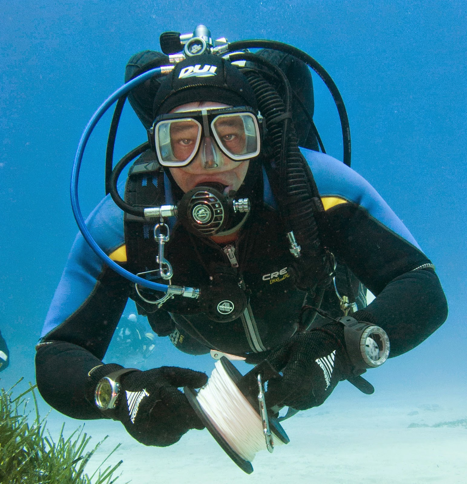 Scuba Tech Diving Centre Cyprus Long Hose Diving From